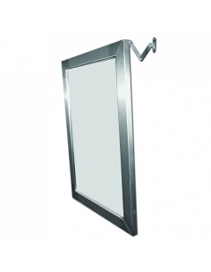 Miroir inclinable en inox