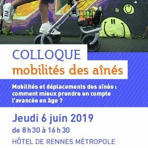 Colloque à Rennes : la mobilité des ainés