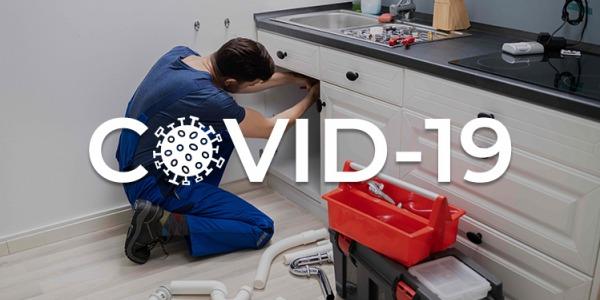 Plombier – installateur sanitaire (tous lieux) : quelles précautions prendre contre le COVID-19 ?